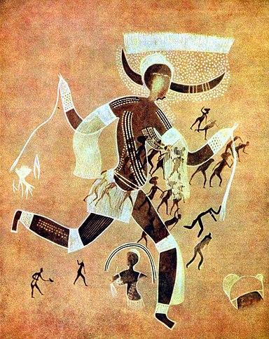 Afrikanischer Maler 001