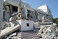 After the earthquake that hit Haiti on 12 January 2010 - Rubbles of the National Palace in Port-au-Prince.jpg