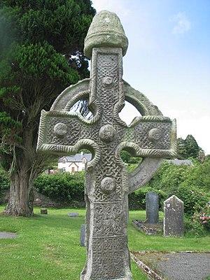 Cormac mac Cuilennáin - Image: Ahenny High Crosses, North Cross