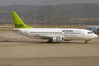 YL-BBR - B733 - Air Baltic