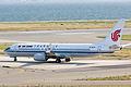 Air China, CA858, Boeing 737-89L, B-5679, Departed to Shanghai, Kansai Airport (17000490270).jpg