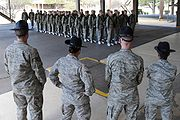 Air Force Basic Training Formation