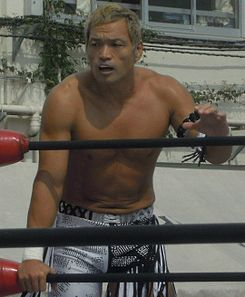 Akira Nogami in the ring (September 2011).jpg