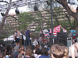 Akron/Family at the 2009 SXSW festival
