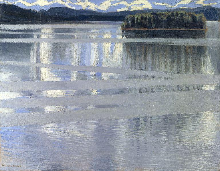Akseli Gallen-Kallela (1865 – 1931) 769px-Akseli_Gallen-Kallela_-_Lake_Keitele%2C_1905