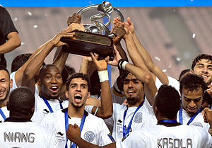 Al Sadd SC - Al Sadd celebrate after winning 2011 AFC Champions League.