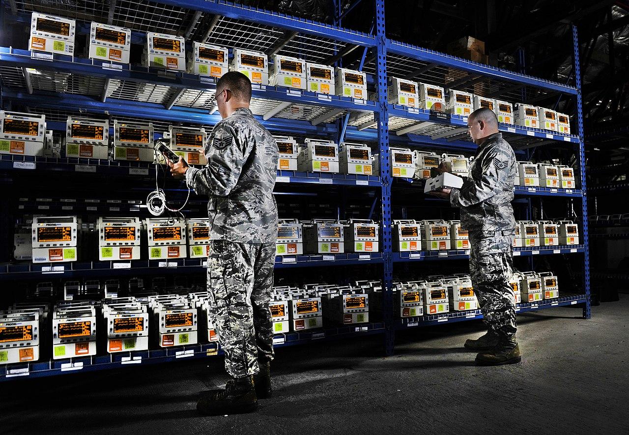 Medical Logistics Airforce Resume