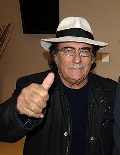 Albano Carrisi Italian recording artist; singer and actor