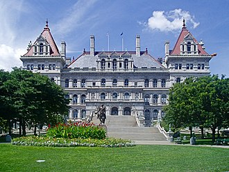 Albany County, New York - Image: Albany Capitol From East 2