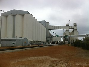 CBH Group - Grain silos at Port of Albany 2016