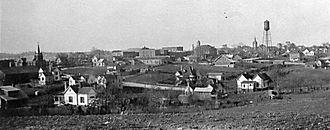 Albemarle, North Carolina - Albemarle, circa 1915