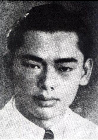 Jesselton Revolt - Albert Kwok, the main leader of Kinabalu Guerrillas.