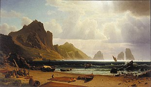 Albert Bierstadt - The Marina Piccola, Capri.jpg