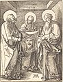 Albrecht Dürer - Saint Veronica between Saints Peter and Paul (NGA 1943.3.3654).jpg