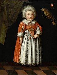 Johanna Katharina Steiger, aged 2