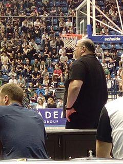 Serbian basketball head coach