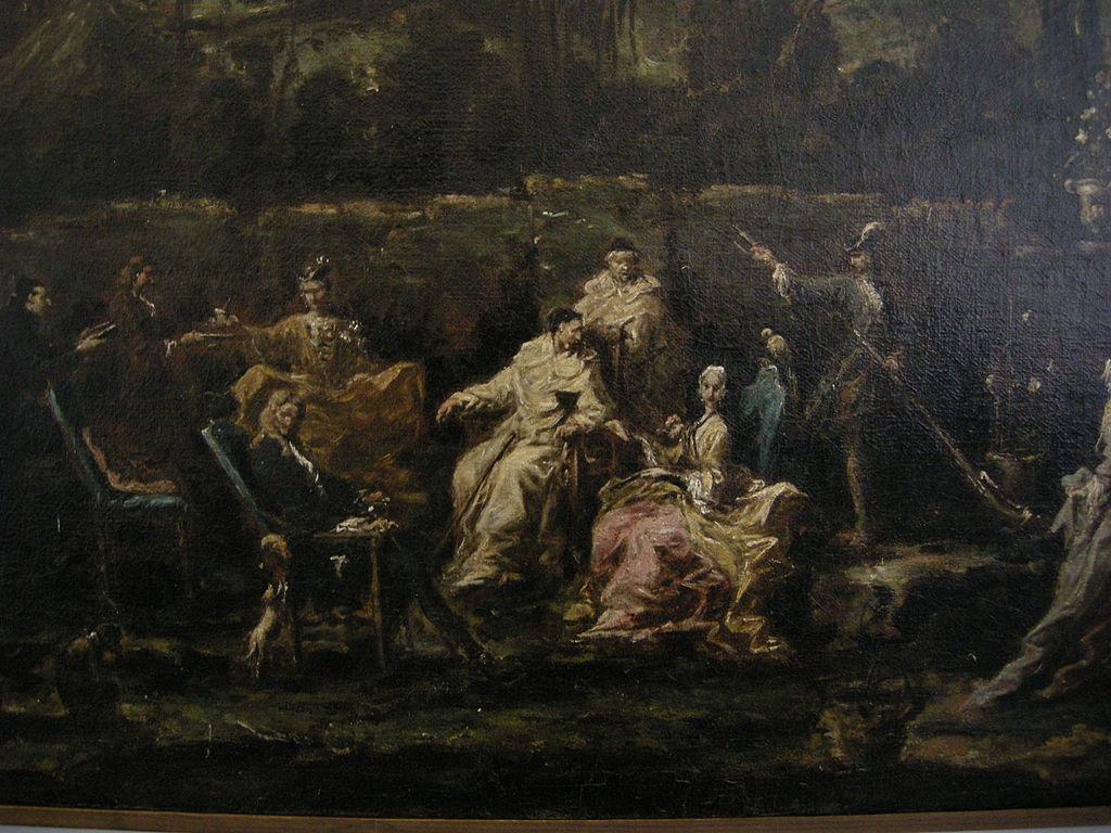 File alessandro magnasco trattenimento in un giardino di albaro 02 jpg wikimedia commons - Il giardino di albaro ...