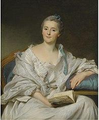 Portrait of Marie-Françoise Julie Constance Filleul, marquise de Marigny