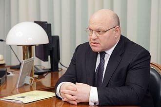 Governor of the Jewish Autonomous Oblast - Image: Alexander Vinnikov, April 2011