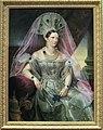 Alexandra Fedorovna in white Russian dress (1830s, Kruger, GIM).jpg