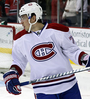 Alexei Emelin - Emelin with the Montreal Canadiens in 2012.