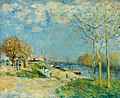 Alfred Sisley (1839-1899) - The Banks of the River Seine around Louveciennes, France - VIS.LI.842 - Sheffield Galleries and Museums Trust.jpg