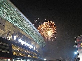 Türk Telekom Stadium - Exterior view