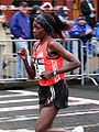 Alice Chelangat at the 2007 Boston Marathon.jpg