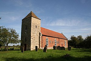 Stapleford, Lincolnshire - Image: All Saints' church, Stapleford, Lincs. geograph.org.uk 57302