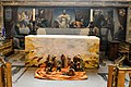 All Hallows-by-theTower, High altar with painting of last supper.jpg