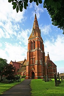 All Saints Church, Winthorpe Church in Nottinghamshire, England