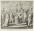 Allegorie op de Vrede van Campo Formio, 1797 Gedenkteken op de vreede van het vaste land (titel op object), RP-P-OB-85.488.jpg
