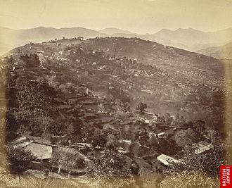 Almora - Almora in the 1860s