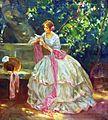 Alois Wierer - Čtoucí dívka.jpg