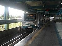 Alstom A96 - Estação Santos-Imigrantes - Linha 2 - Verde do Metrô de São Paulo.JPG