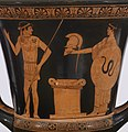 Altamura Painter - Red-Figure Calyx Krater - Walters 48262 - Side A Detail.jpg