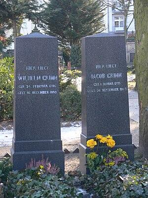 Alter St.-Matthäus-Kirchhof - Image: Alter St Matthäus Kirchhof Grimm Wilhelm Jacob