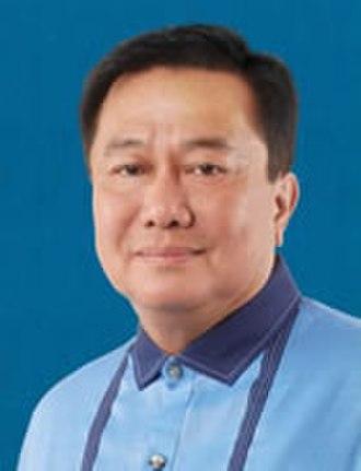 Pantaleon Alvarez - Official Philippine House of Representatives portrait of Alvarez in 2016