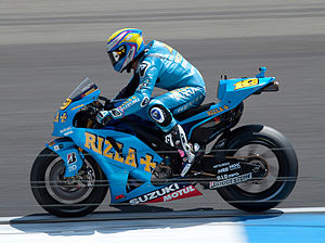 Álvaro Bautista - Bautista at the 2010 Dutch TT.
