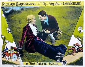 Dorothy Dunbar - Lobby card for The Amateur Gentleman (1926)
