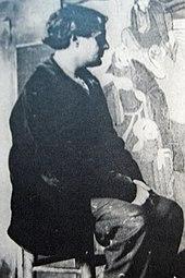bb8be5e2207 Modigliani dans l atelier de Foujita à la cité Falguière (1909).