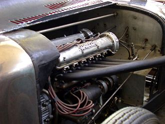 Amilcar - Amilcar CO, supercharged engine