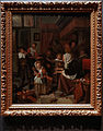 Amsterdam - Rijksmuseum 1885 - The Gallery of Honour (1st Floor) - The Feast of Saint Nicholas 1665-68 by Jan Steen.jpg