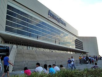 Originally called the Orlando Arena, and later TD Waterhouse Centre, the Amway Arena was the home of the Magic from 1989 to 2010. Amway Arena Exterior.jpg