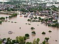 An aerial view taken from the IAF relief Helicopter of the flood-affected areas in Gujarat on July 3, 2005 (7).jpg