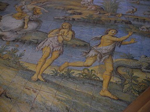 Anacapri - Fliesen-Mosaikboden