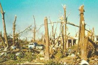 Andover tornado outbreak - Damage from the Andover tornado
