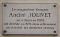 André Jolivet plaque - 59 rue de Varenne, Paris 7.jpg