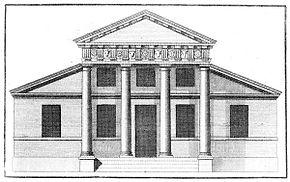 Palladianesimo wikipedia for Idee portico coloniale