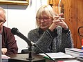 Anna Lisa Macchia in un incontro letterario dell'Associazione culturale fiorentina Pianeta Poesia.jpg